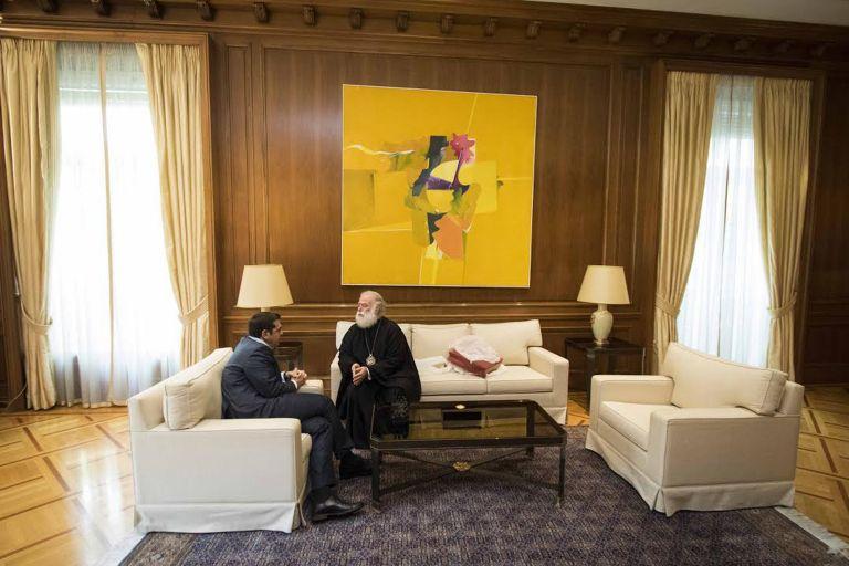 Με τον πατριάρχη Αλεξανδρείας συναντήθηκε ο Αλ. Τσίπρας | tovima.gr