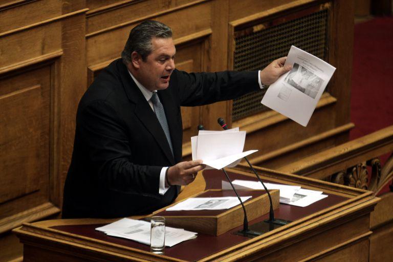 Σφοδρές καταγγελίες Π. Καμμένου κατά Δ. Γιαννακόπουλου | tovima.gr