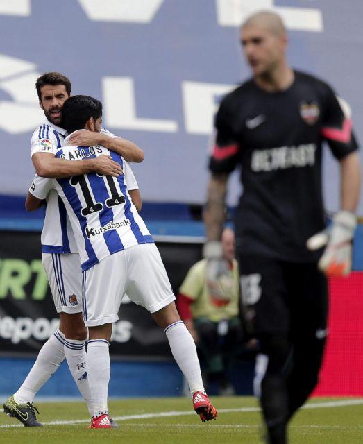 Primera Division: Βαθιά ανάσα για τη Σοσιεδάδ με εκτός έδρας «τεσσάρα»   tovima.gr