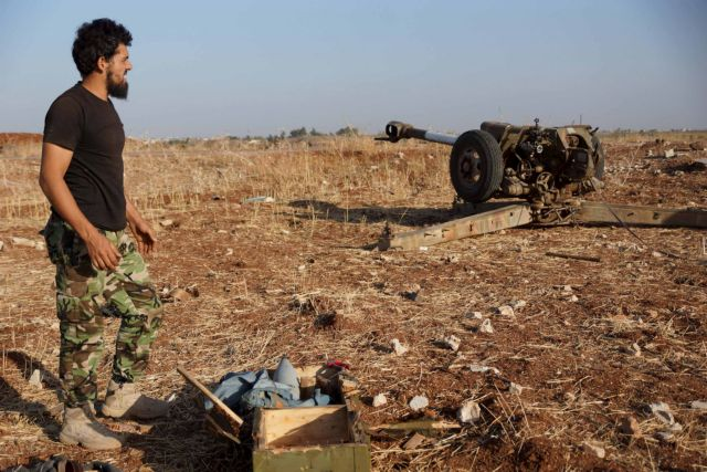 Συρία: Τουλάχιστον 120.000 οι εκτοπισμένοι τον Οκτώβριο | tovima.gr