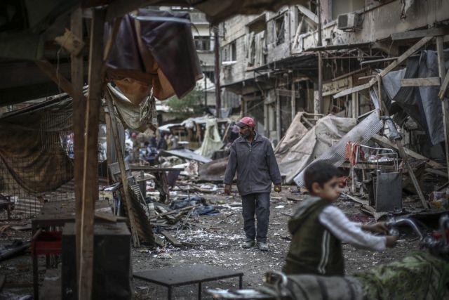 Νεκρά δεκάδες παιδιά σε αεροπορικές επιδρομές στο Χαλέπι | tovima.gr