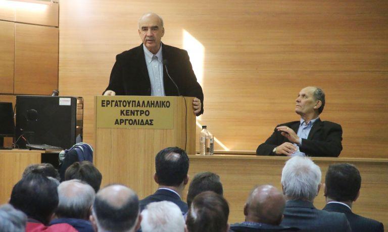 Μεϊμαράκης: Κατηγορηματικό «όχι» για το εσωκομματικό ντιμπέιτ | tovima.gr