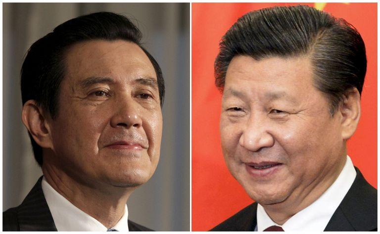 Ιστορική συνάντηση κορυφής μεταξύ Κίνας και Ταϊβάν | tovima.gr