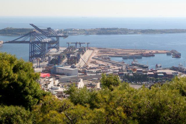 Με ταχείς ρυθμούς οι εργασίες στο δυτικό προβλήτα ΙΙΙ της Cosco | tovima.gr