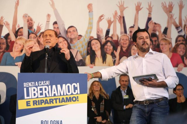 Προς «σύμφωνο συμβίωσης» Λέγκας του Βορρά και Μπερλουσκόνι | tovima.gr