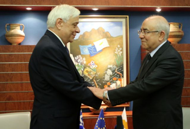 """Pavlopoulos: """"The Cypriot dispute is a disgrace for the world""""   tovima.gr"""
