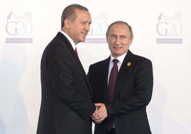 Kρεμλίνο: «Δεν αποκλείει» συνάντηση με Ερντογάν πριν την G20   tovima.gr