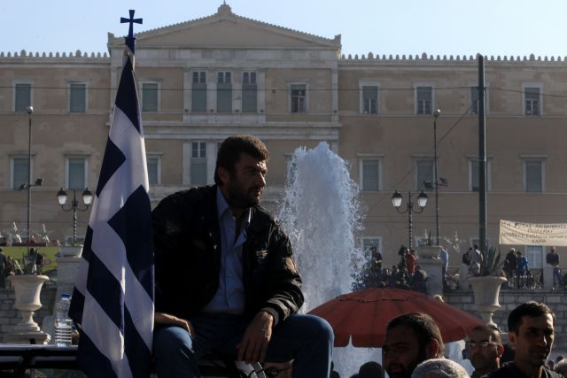Tension and clashes with police at farmer rally in Athens | tovima.gr