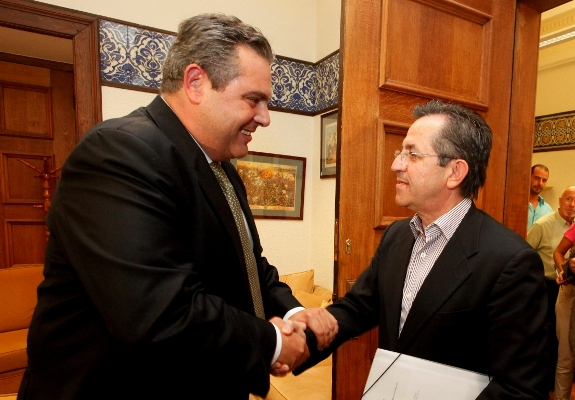 Kammenos calls MP Nikolopoulos to resign if he votes against prior actions   tovima.gr