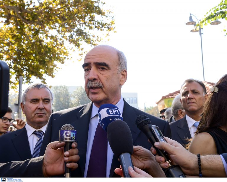 """Meimarakis: """"I will resign if the other candidates also step down""""   tovima.gr"""