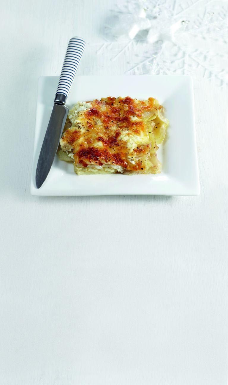 Πατάτες και σελινόριζες γκρατέν | tovima.gr