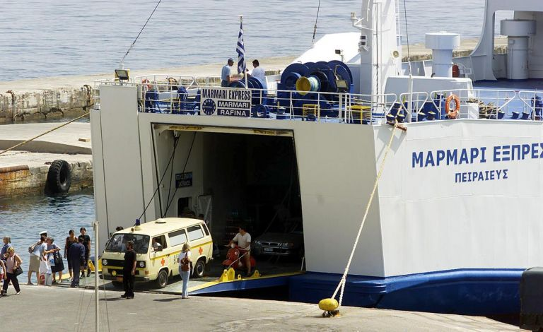 Bomb threat prevents ferry boat departure from Rafina | tovima.gr