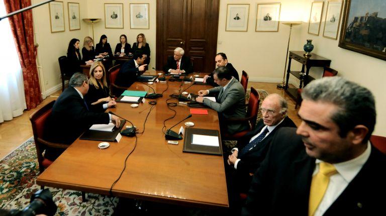 Η ανακοίνωση της Προεδρίας για το Συμβούλιο Πολιτικών Αρχηγών | tovima.gr