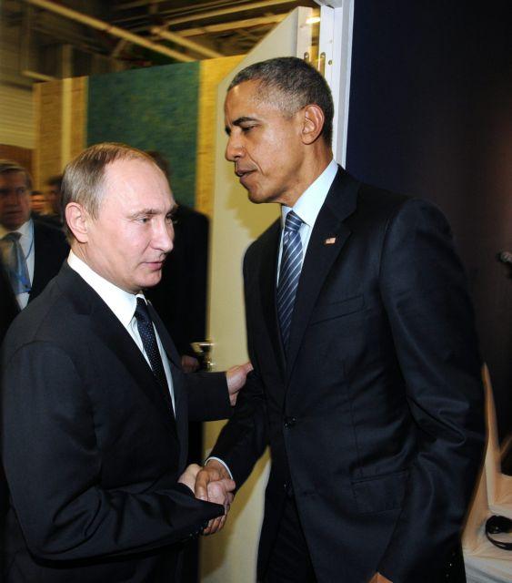 Συνάντηση Ομπάμα-Πούτιν – Τι συζήτησαν για Συρία, Ουκρανία   tovima.gr
