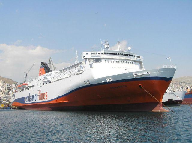 Στην κυριότητα της Hellenic Seaways το πλοίο Ionian Queen | tovima.gr