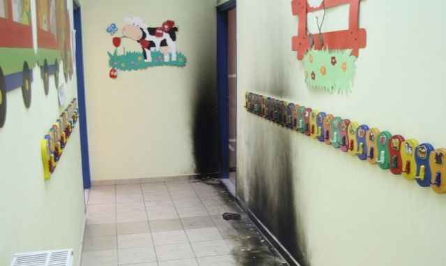 Four arrested for petrol bomb attack against nursery | tovima.gr