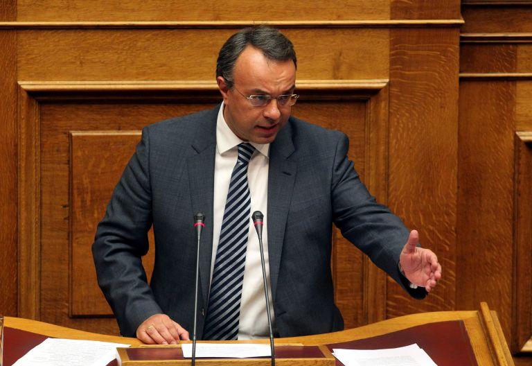 Σταϊκούρας: Kατηγορεί την κυβέρνηση για στέγνωμα της πραγματικής οικονομίας   tovima.gr