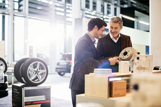 Η Mercedes-Benz ενημερώνει: Γνήσια ανταλλακτικά και ποιότητα που σας ανταμείβει | tovima.gr
