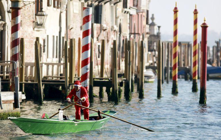 Ιταλία – Κλιματικός συναγερμός: Νέφος στο Μιλάνο, άμπωτη στη Βενετία   tovima.gr