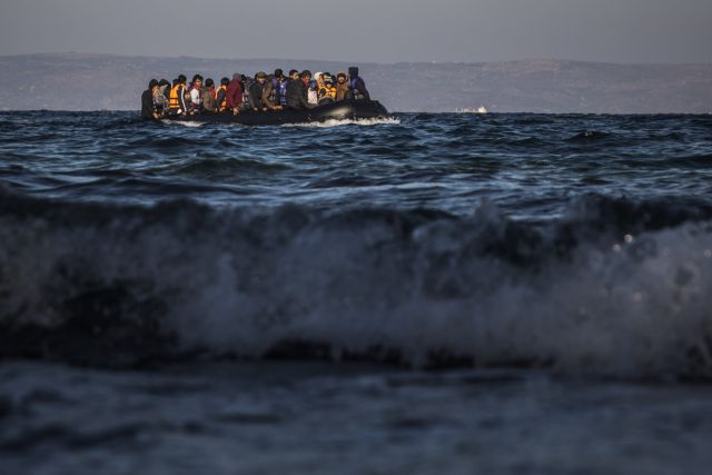 Boat carrying 80 migrants and refugees arrives on Lesvos | tovima.gr