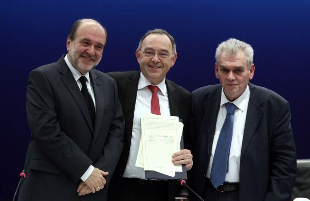 Αποστολή στη Γερμανία υπό τον Αλεξιάδη για την πάταξη της φοροδιαφυγής | tovima.gr