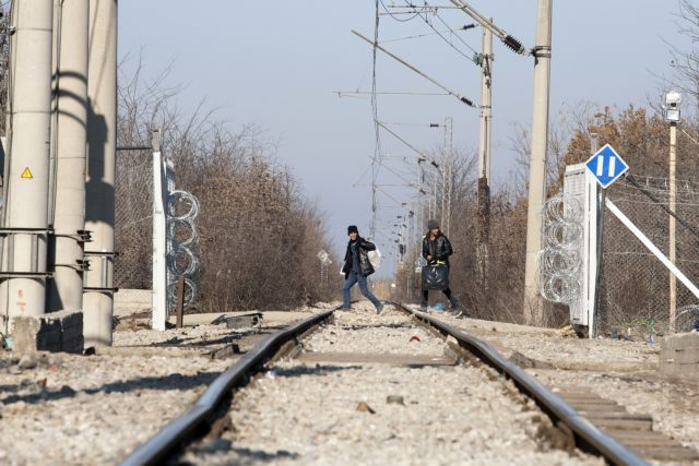 Border crossing at Idomeni reopens on Monday morning | tovima.gr