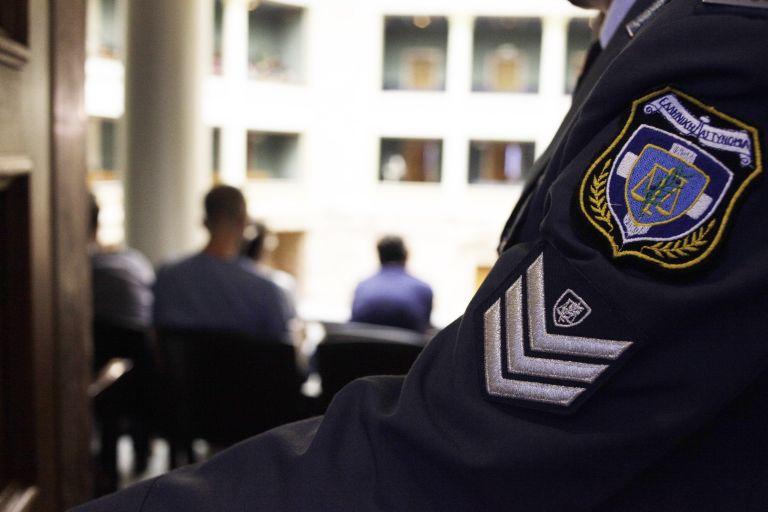 Police union demonstrates over pension system reform | tovima.gr