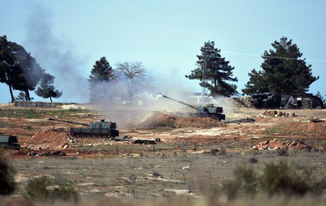 Τουρκικοί βομβαρδισμοί στη βόρεια Συρία, 55 τζιχαντιστές νεκροί   tovima.gr