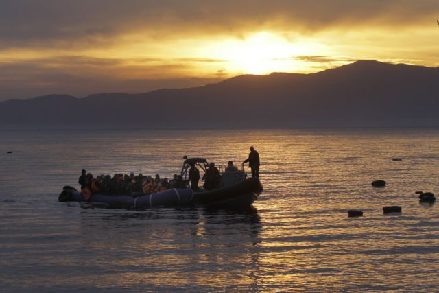Coast Guard succesfully concludes search for refugees off Lesvos | tovima.gr