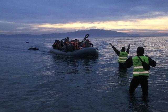 «Έσπασε» το σερί μηδενικών ροών, 52 πρόσφυγες έφθασαν στη Λέσβο | tovima.gr