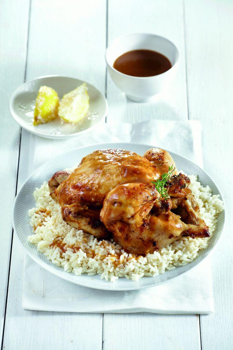 Κοτόπουλο φούρνου με φρεσκοπαστωμένο λεμόνι | tovima.gr