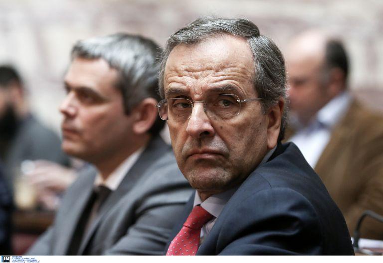 Samaras files lawsuit against PM Tsipras, prosecutor, minister for 'creating criminal organisation' | tovima.gr