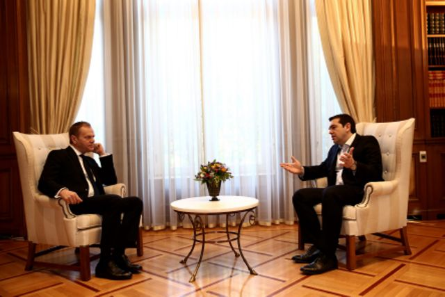 """PM Tsipras: """"Greece will not become a warehouse of souls"""" 