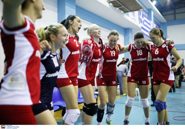 Βόλεϊ: Στον τελικό του Κυπέλλου γυναικών προκρίθηκε ο Ολυμπιακός | tovima.gr