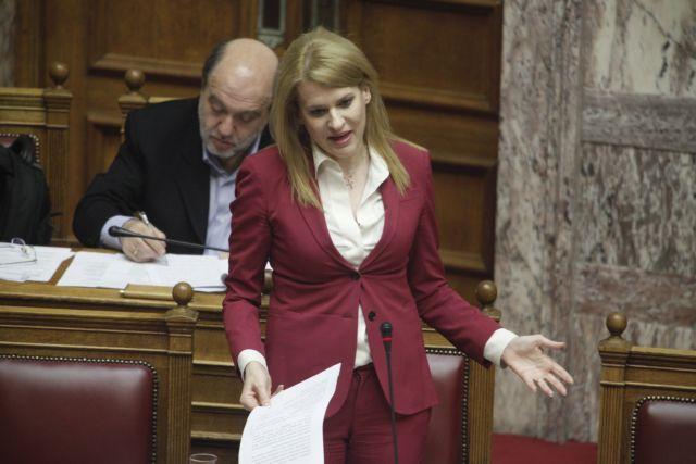 «Επιτέθηκαν» στη βουλευτή του ΣΥΡΙΖΑ Θ. Τζάκρη   tovima.gr