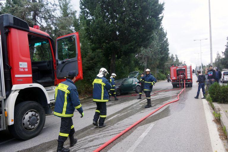 Πυρκαγιά σε φορτηγό στην εθνική οδό Αθηνών – Θεσσαλονίκης   tovima.gr