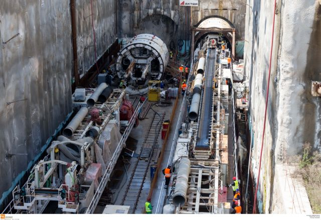 """Mylopoulos: """"Thessaloniki Metro will operate by 2020""""   tovima.gr"""