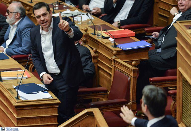 Δίχως αποδέκτη η «πρόσκληση» Τσίπρα προς Μητσοτάκη για να συζητήσουν το θέμα του χρέους   tovima.gr