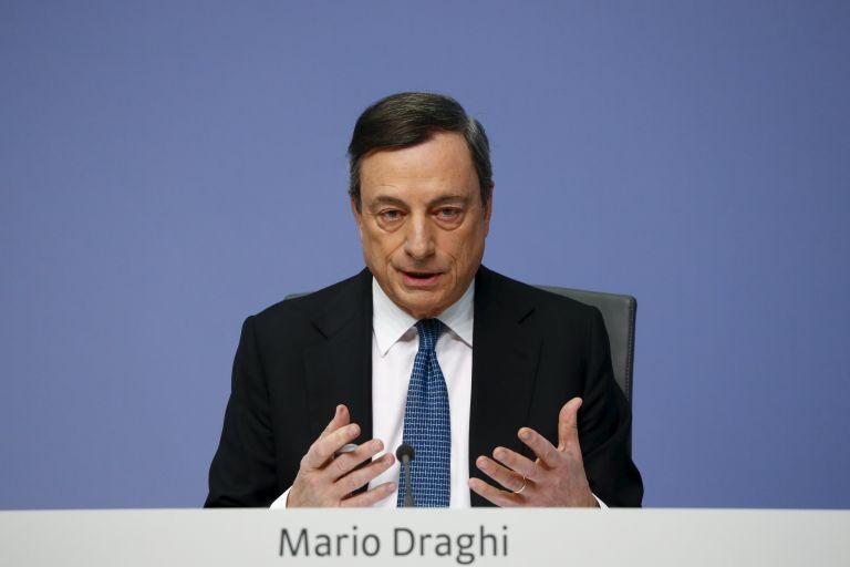 Ντράγκι: Αναγκαία παραμένει ακόμη η χαλαρή νομισματική πολιτική | tovima.gr