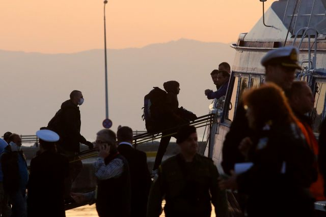First group of migrants returns to Turkey from Greek islands | tovima.gr