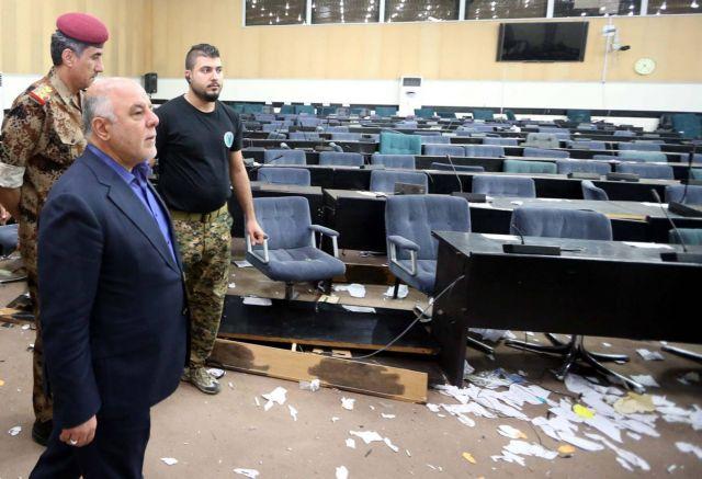 Ιράκ: Τη σύλληψη όσων εισέβαλαν στο κοινοβούλιο διέταξε ο πρωθυπουργός   tovima.gr