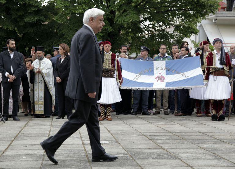 Παυλόπουλος: Αποφασισμένοι να υπερασπισθούμε με το αίμα μας την κυριαρχία της πατρίδας   tovima.gr