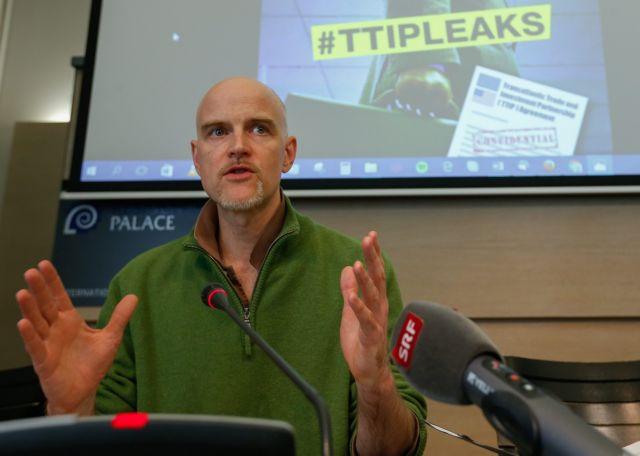 Οι διαρροές εγγράφων απειλούν τη συμφωνία για το εμπόριο   tovima.gr