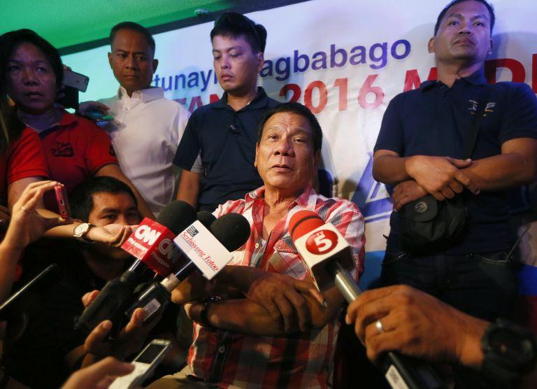 Φιλιππίνες: Ο Ροντρίγκο Ντουτέρτε νικητής στις προεδρικές εκλογές   tovima.gr