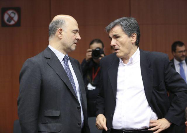 Tsakalotos-Moscovici discuss privatizations, energy and ELSTAT | tovima.gr