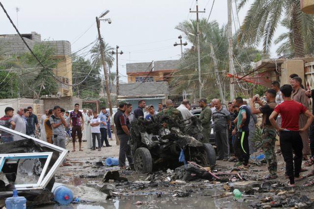 Ιράκ: Eκρηξη παγιδευμένου αυτοκινήτου στο Σαντρ Σίτι – 64 νεκροί | tovima.gr