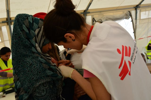 Γιατροί Χωρίς Σύνορα: Πάνω από 2.000 σε χώρο για 700 πρόσφυγες στη Σάμο | tovima.gr