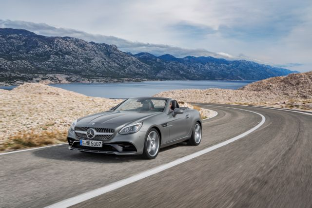 Mercedes-Benz SLC 180: Το άγγιγμα του Μίδα   tovima.gr