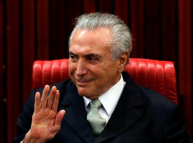 Βραζιλία: Ο Aντιπρόεδρος στα ηνία της μετά την αποπομπή Ρουσέφ   tovima.gr