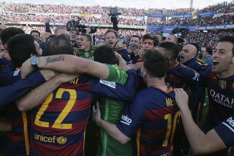 Iσπανία: Η Μπαρτσελόνα κατέκτησε το πρωτάθλημα στην Primera Division   tovima.gr